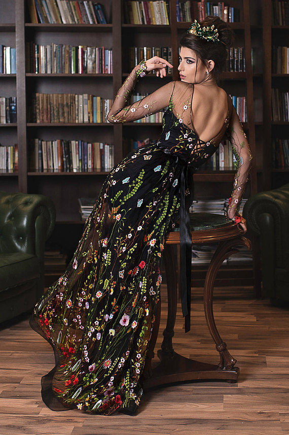 Embroidered formal dress Ball Gown Lace Cheap Party Gowns Evening Dress M3954