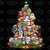 Owl Christmas, owl, christmas, christmas tree, santa claus, png
