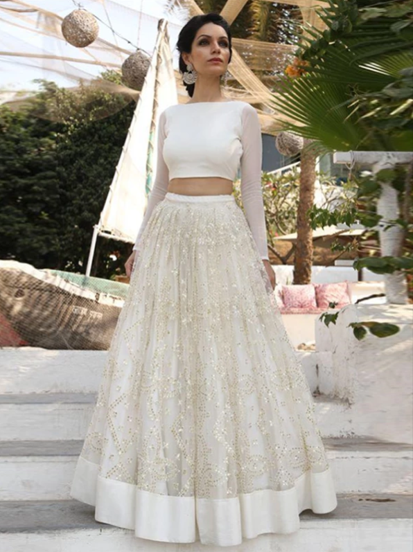 Two Piece Prom Dress Simple Cheap A Line Long Lace Prom Dress, CD435