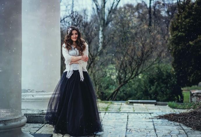 Women Maxi Tulle Tutu Skirt, Black (or Different Color), Bridesmaid Wedding