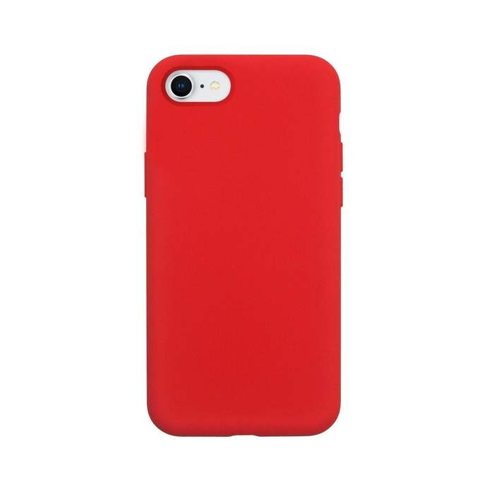 iPhone 8 | iPhone 7 | iPhone 6 Case Liquid Silicone - Red