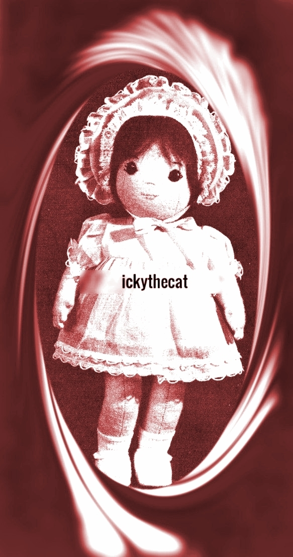 "Instant PDF Digital Download Vintage PDF Sewing Pattern Pretty 12"" Girl Rag Doll"