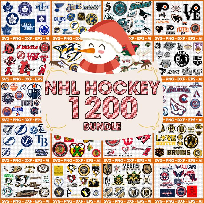 NHL svg, Hockey svg, all team NHL svg, Sport svg