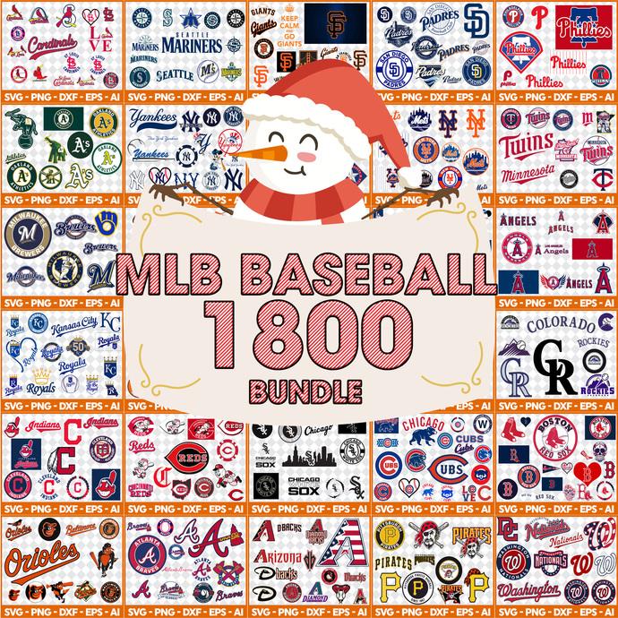MLB svg, Baseball svg, all team MLB svg, Sport svg