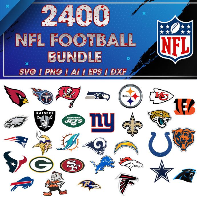 nfl svg, Football svg, NFL bundle svg, Sport svg