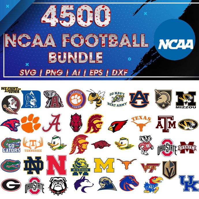 ncaa svg, Football svg, NCAA  bundle svg, Sport svg