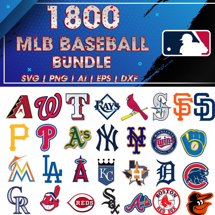 mlb svg, Baseball svg, MLB bundle svg, Sport svg