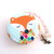 Tape Measure with Sweater Foxes Retractable Small Measuring Tape