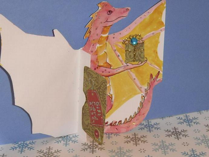 DRAGON Gift Card Holder