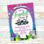 "Hatchimals Birthday Party  Invitation (5""x7"") - Digital File- No Instant"