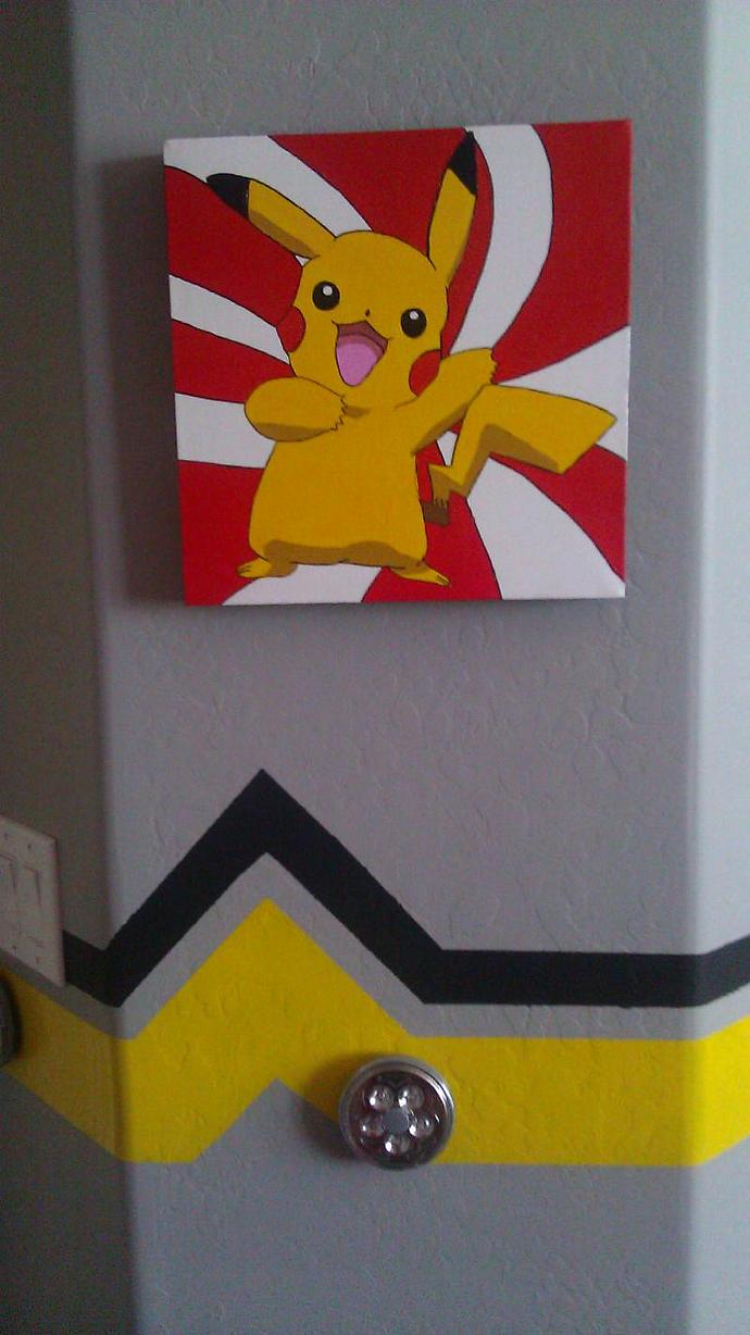 Custom Pokemon 12x12 Canvas