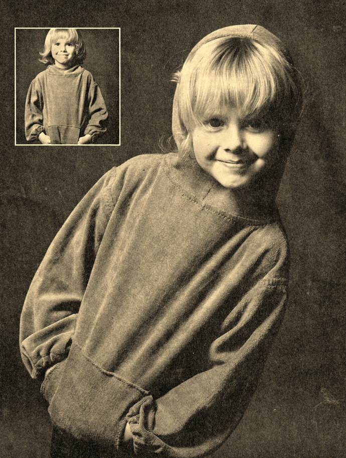 Instant PDF Digital Download Vintage Chart Sewing Pattern Boy's Girl's Stretch