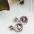 Vintage Judith Jack Sterling Silver Marcasite Pearl Drop Earrings