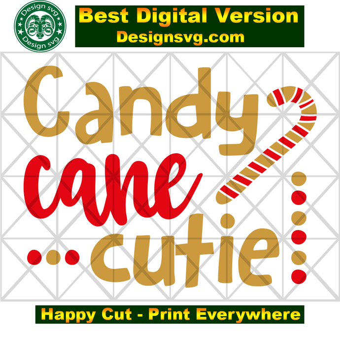 Copy of  Candy cane cutie, candy cane gift, christmas svg, christmas gift, funny