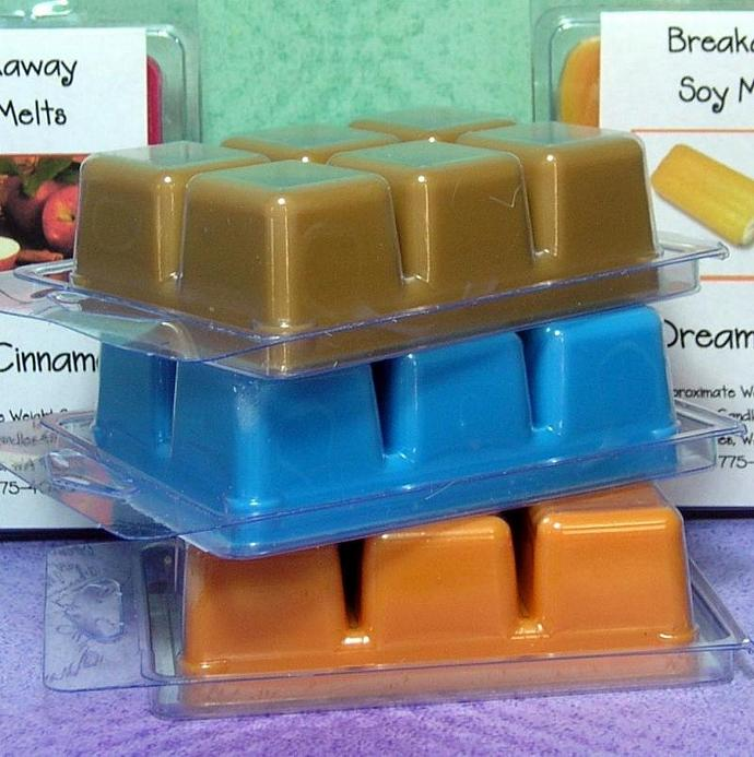 Any Six (6)  Clamshell Soy Wax Tart Melts SAVE