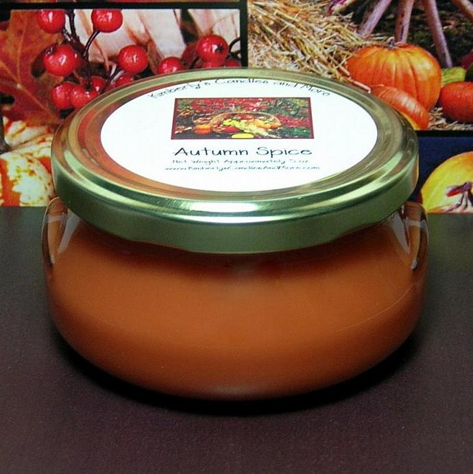 Autumn Spice 6 oz. Tureen Jar Wickless Candle