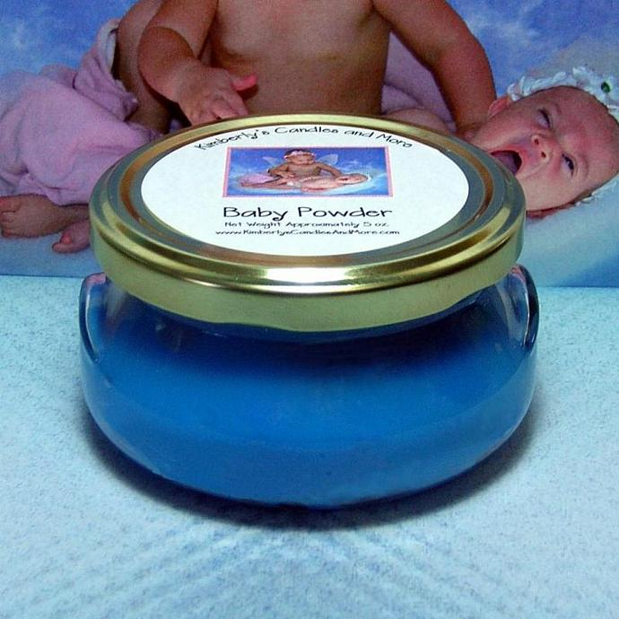 Baby Powder Wickless Candle