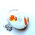 Tape Measure Turtles, Fish and Cattails Small Retractable Tape Measure