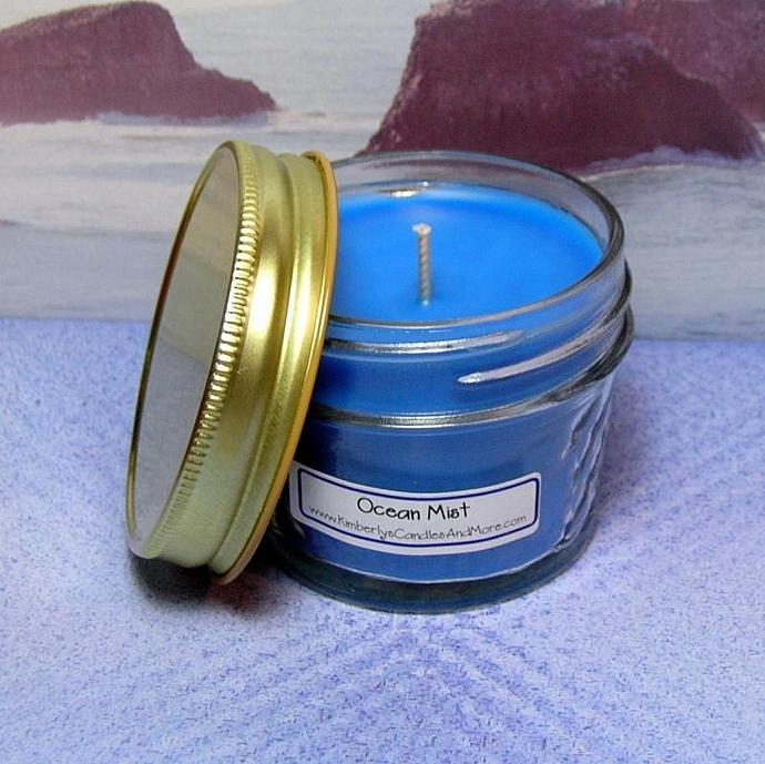 Ocean Mist PURE SOY 4 oz. Jelly Jar Candle
