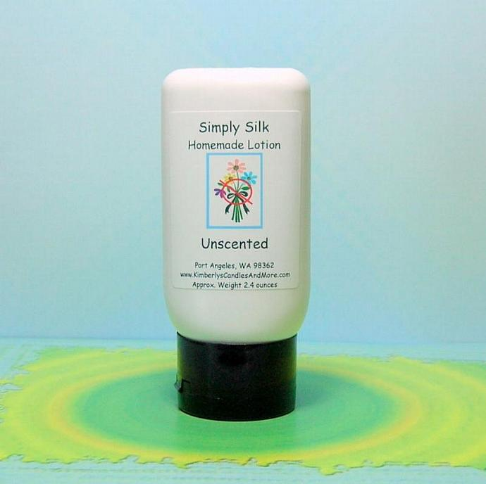 Unscented Simply Silk Lotion