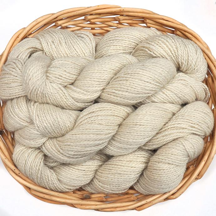 Northwest Natural Yarn - Locally Produced Nordic Blend Wool Yarn, DK weight, 200