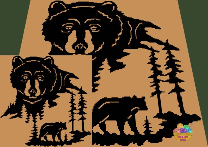Bear Scenery (sc)