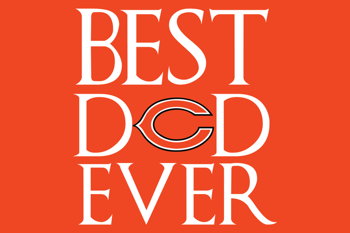 Best dad Chicago Bears ever,Chicago Bears  svg, football svg, Chicago Bears