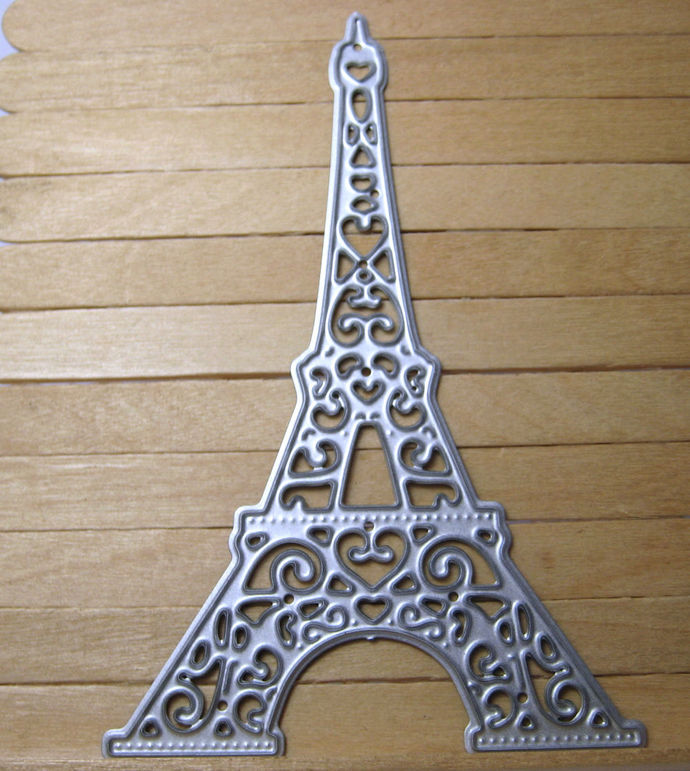 Eiffel Tower Die Metal Cutting Die Style #2