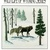 Cross Stitch Pattern Wolves Wild Life of Wyoming Series, Quiet Moments No. 5