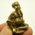 Chuchok miniature Poo choochok Thai mini brass amulet Buddha enemy talisman real