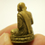 LP Ngern mini doll statue figurine of Wat Bangklan Temple blessed Buddha wealth