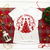 Beautiful Red Christmas Greeting Tshirt