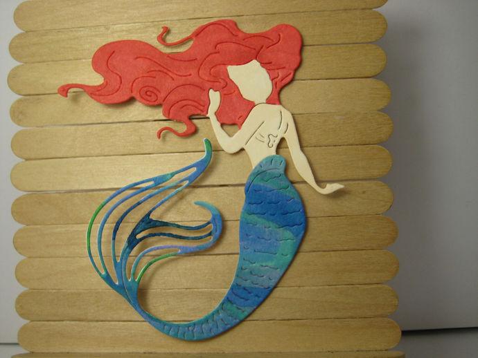 Mermaid Metal Cutting Die Style #9