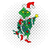 The grinch christmas tree, grinch, grinch face, the grinch, grinch lover svg,