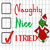 Naughty nice I tried, grinch, grinch svg, the grinch, grinch face svg, the