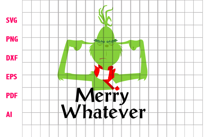 Merry whatever, grinch, grinch svg, the grinch, grinch face svg, the grinch face