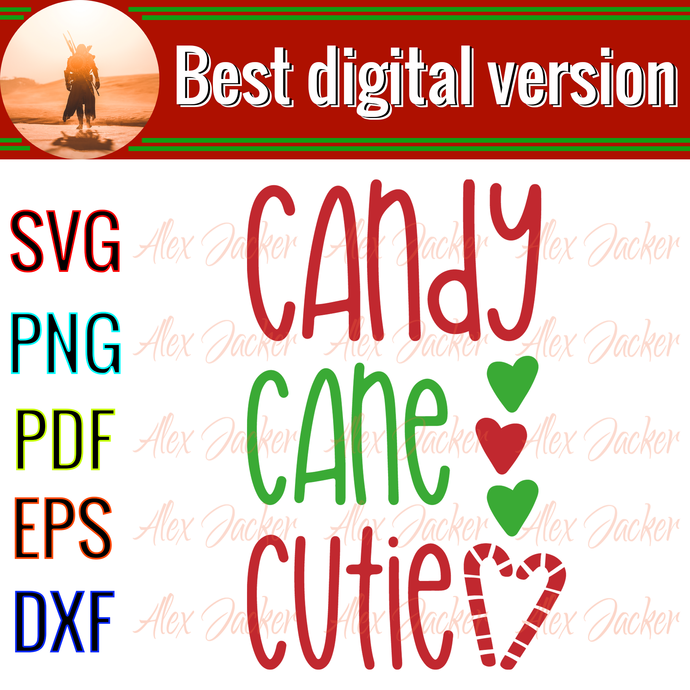Candy cane cutie, candy cane gift,candy cane svg, christmas party,happy