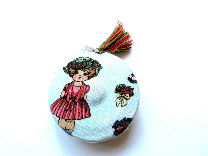 Retractable Tape Measure Vintage Dolls Small Measuring Tape