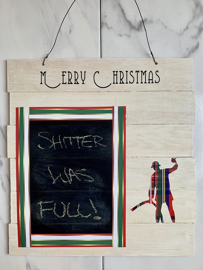 Christmas Vacation Chalkboard