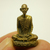 Phra LP Derm mini doll statue figurine brass amulet of wat Nongpo temple blessed