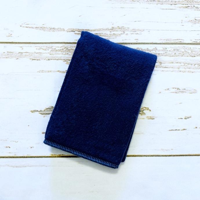Navy Burp Cloth