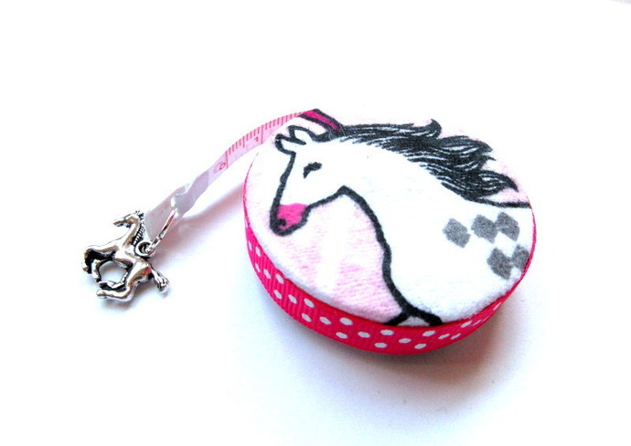Retractable Measuring Tape Horse Lovers Small Tape Measure