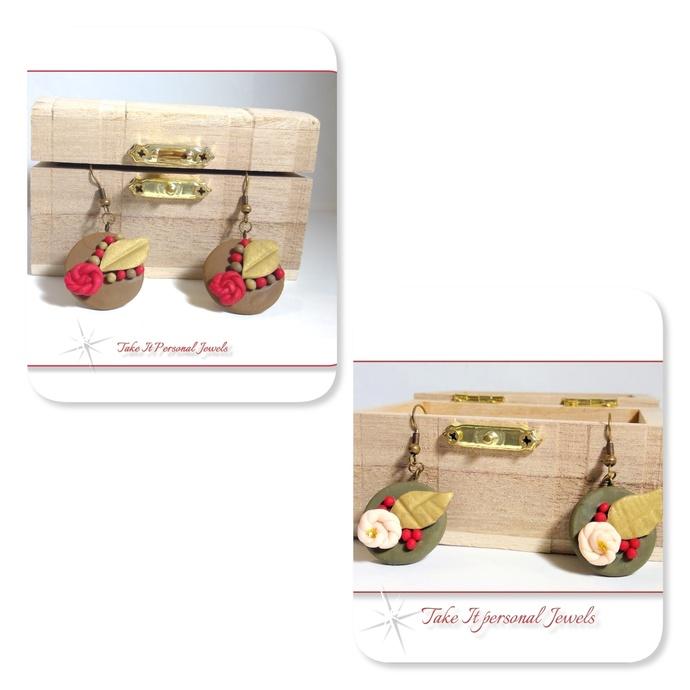 Vintage Style Flower Earrings Dangle style Jewelry Gifts