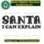 Santa I can explain ,santa claus, christmas santa, santa hat, christmas