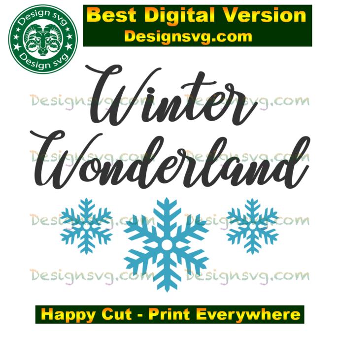 Winter wonderland, christmas svg,winter svg, christmas winter,snowflakes,