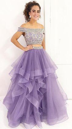 lavender long prom dress, off the shoulder long prom dress, sweet 16 dress,