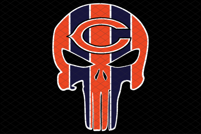 Chicago Bears,NFL svg, Football svg file, Football logo,NFL fabric, NFL