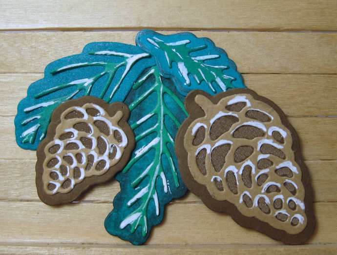 Pine Cone and Branch Die Set