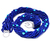 14 Strand Natural Lapis Lazuli Turquoise Beaded 925 Sterling Silver Jewelry