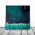 Wall Decor , 12x 12, ORIGINAL Painting, Art Painting, green blue and black,